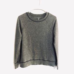 Aerie Gray Pullover Sweatshirt